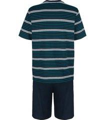 pyjamas babista 1 blå/turkos
