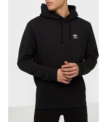 adidas originals essential hoody tröjor svart