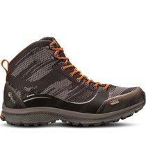 zapato impermeable light rock mid gris naranjo lippi