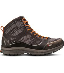 zapato impermeable light rock mid gris naranjo lippi