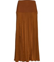 rodebjer najia lång kjol brun rodebjer