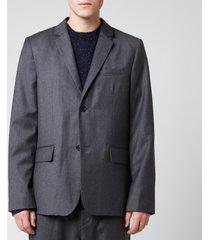 a.p.c. men's spencer blazer - grey - 50/l