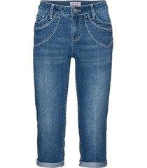 jeans comfort elasticizzati capri (blu) - john baner jeanswear