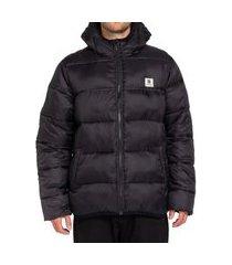 jaqueta element alder avalanche masculina preto