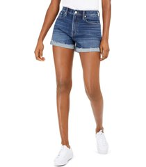 lucky brand relaxed cuffed denim shorts