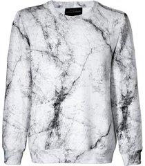 bluza damska marmur biała