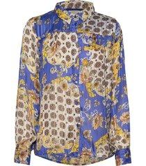 molly shirt overhemd met lange mouwen multi/patroon lollys laundry