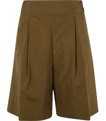 aspesi high rise shorts