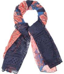pañuelo african lace multicolor desigual