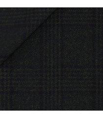 pantaloni da uomo su misura, vitale barberis canonico, principe di galles deciso mouliné verde, autunno inverno | lanieri