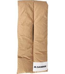jil sander padded scarf