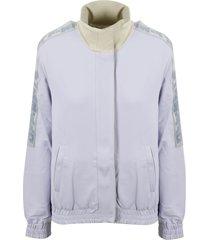 off-white athleisure track jacket