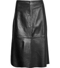 2nd marvin knälång kjol svart 2ndday