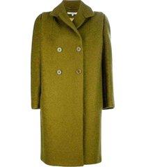 double breasted oversized pea coat