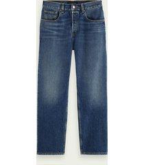 scotch & soda the vert straight-fit organic cotton jeans– strike a chord