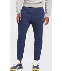 pantalón de buzo reebok ri ft jogger azul - calce regular