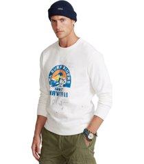 polo ralph lauren men's fleece graphic sweatshirt
