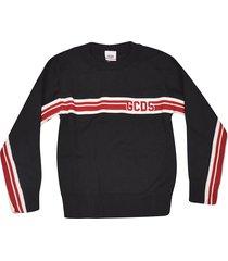 gcds logo detail sweater