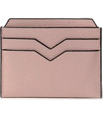 card case in dusty pink