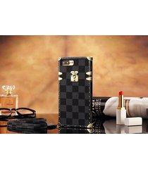 *black-p eye trunk bag style plastic case apple iphone6/6s iphone7 iphone8 plus