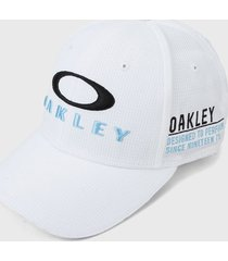 gorra blanco oakley golf hat