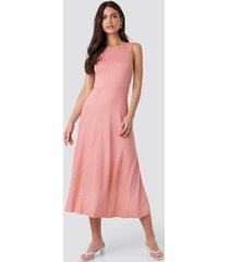 mango chicle dress - pink