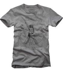 t-shirt rocky anatomy reserva cinza - cinza - masculino - dafiti