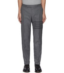 four bar tailored twill pants