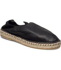 joanna stretch espadrille sandaletter expadrilles låga svart filippa k