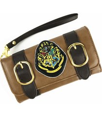 harry potter hogwarts crest satchel clutch bag fold wallet purse for gift