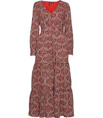 bohemian maxi dress dresses everyday dresses röd superdry