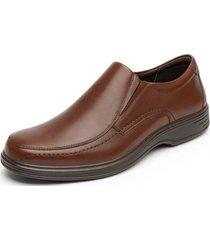 zapato cuero formal quilmes tan flexi