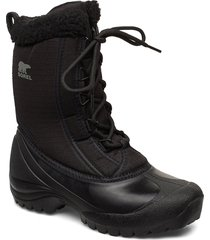 cumberland shoes boots ankle boots ankle boots flat heel svart sorel
