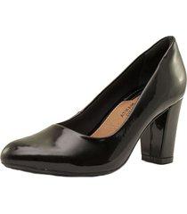 zapato clásico negro ramarim