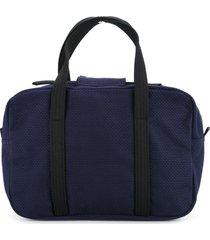 cabas bowler tote bag - blue