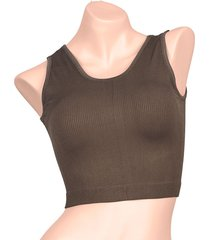 top camisilla young verde oliva cachet