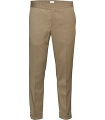 m. terry gabardine pants kostuumbroek formele broek beige filippa k