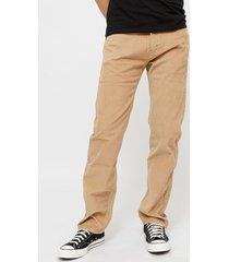 pantalón levis 505 regular beige - calce regular