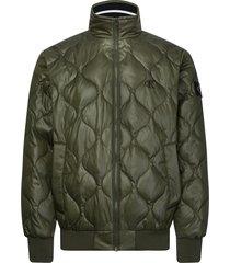 calvin klein jas j30j314216 quilted jacket ldd deep depths - groen