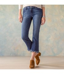 mia crop flare jeans
