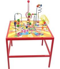 brinquedo educativo aramado mesa de coordenação - carlu 1927 - carlu