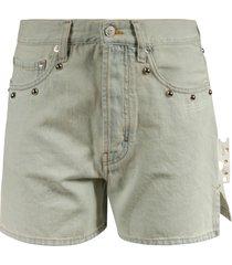 off-white straight new studs shorts