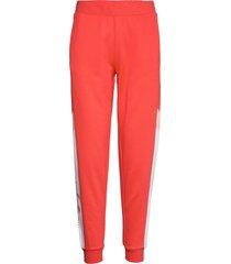 knit pants sweatpants mjukisbyxor röd calvin klein performance