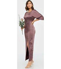 vila visateeny open back ancle dress/dc maxiklänningar