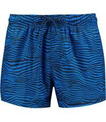 short de baño azul puma length swim