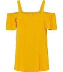 maglia con cut-out (giallo) - rainbow