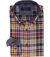 overhemd casa moda comfort fit ruitjes
