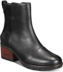 sorel women's cate waterproof booties women's shoes