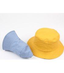 cappellino da secchio per pescatore estivo di puro pescatore estivo in puro cotone, materiale traspirante e facile da lavare.