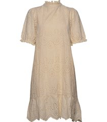 aleksasz ss dress jurk knielengte beige saint tropez